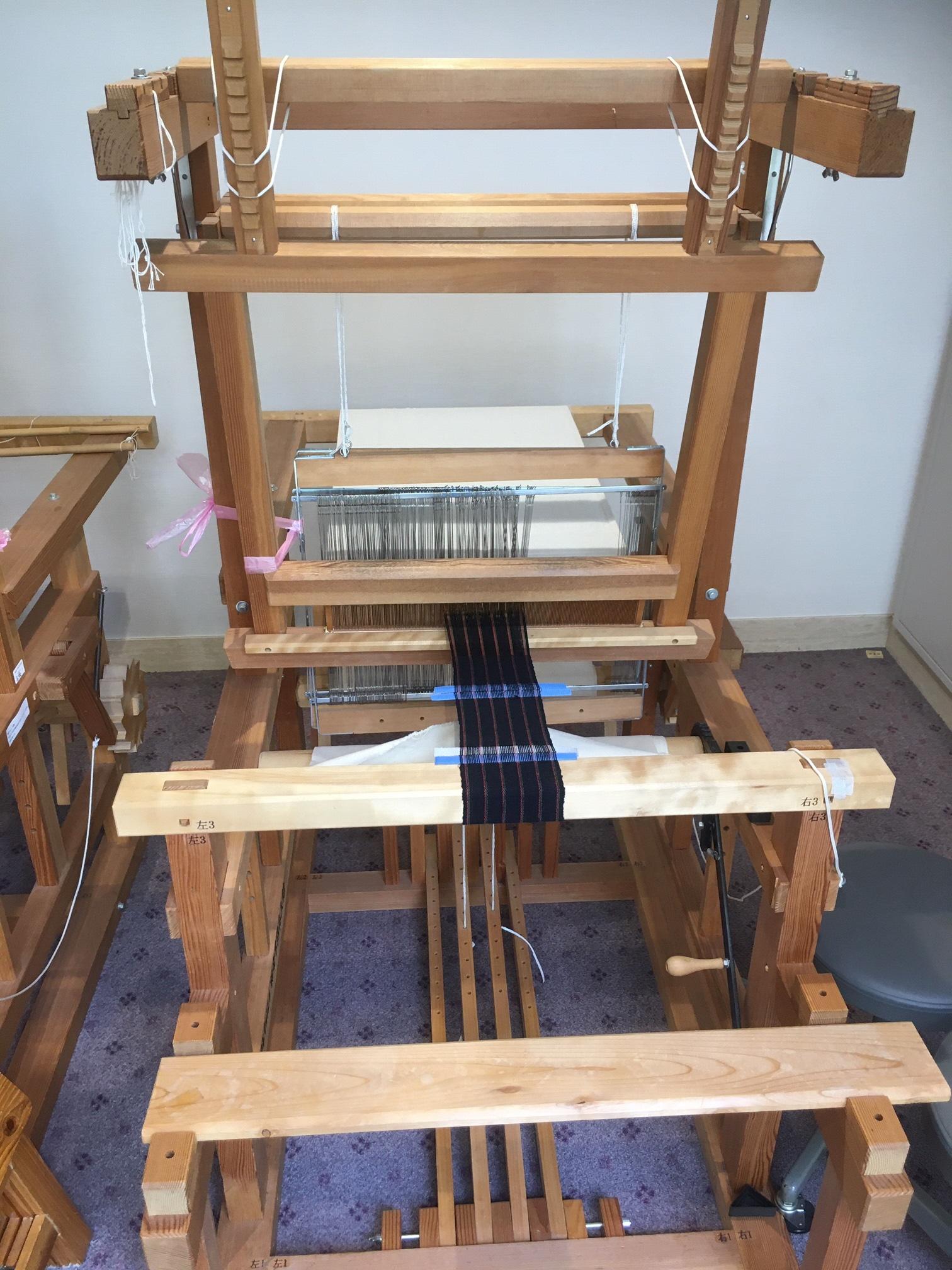 相楽木綿 コースター織り体験