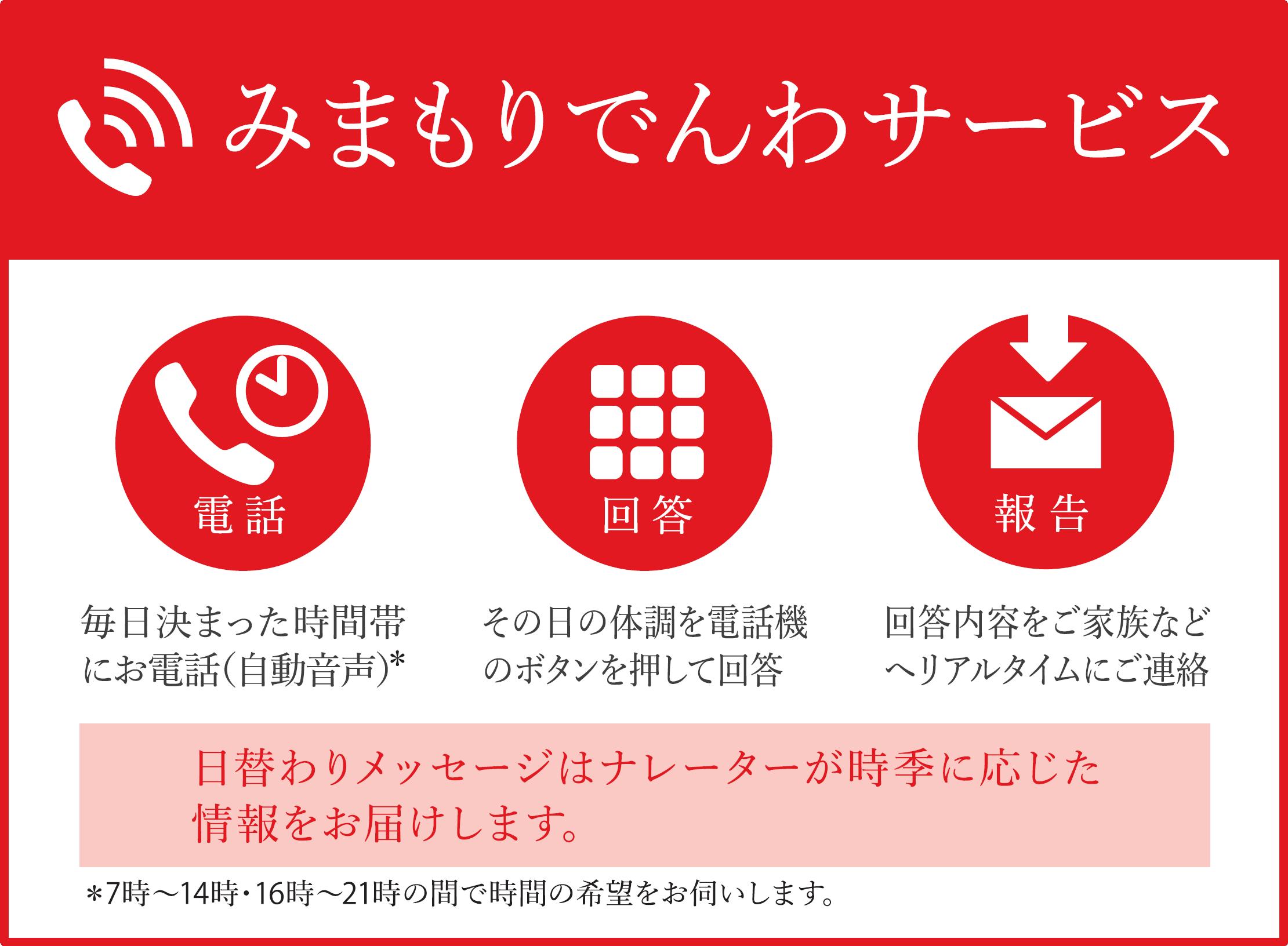 みまもりでんわサービス【携帯電話】(6か月間)