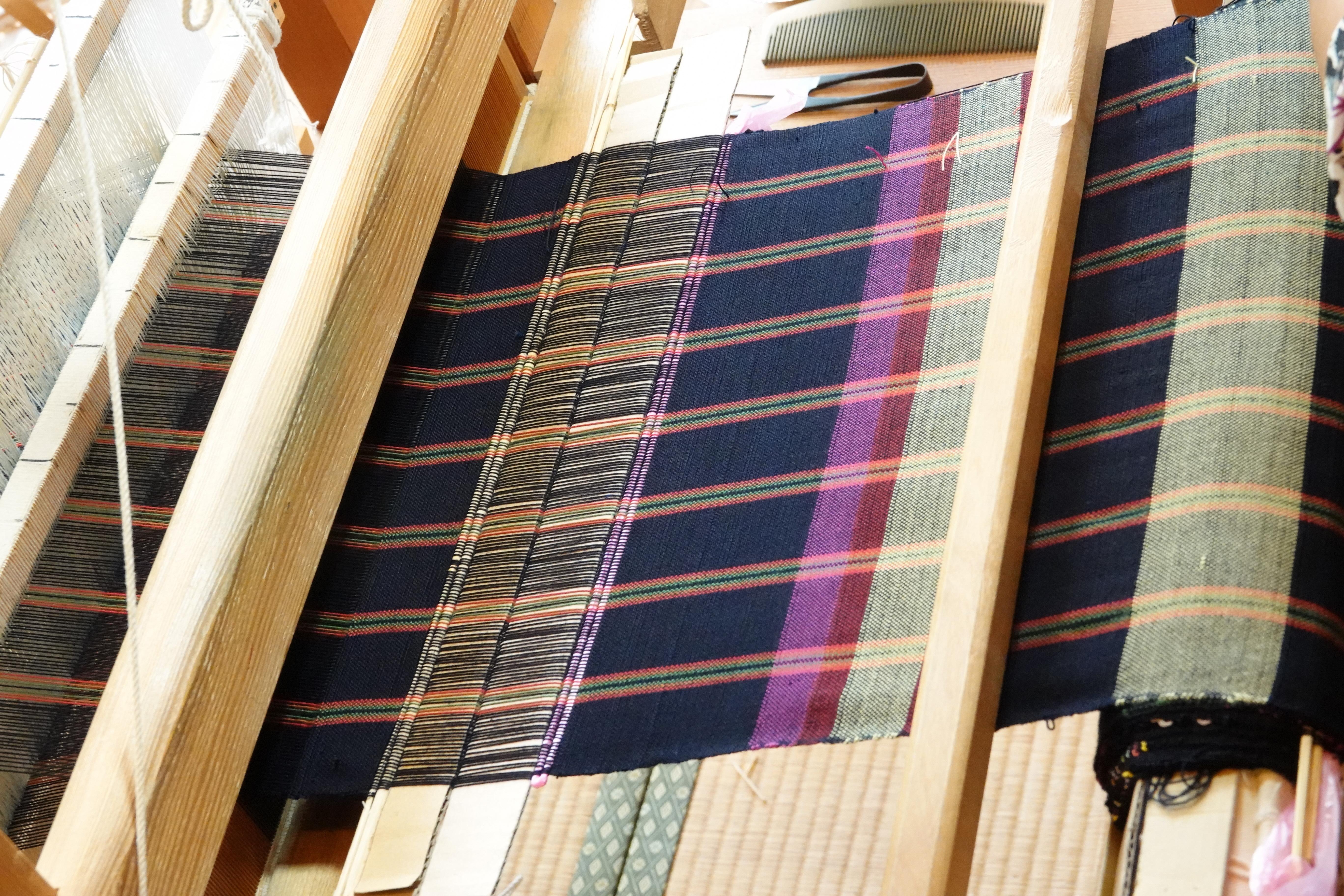 相楽木綿 機織り体験